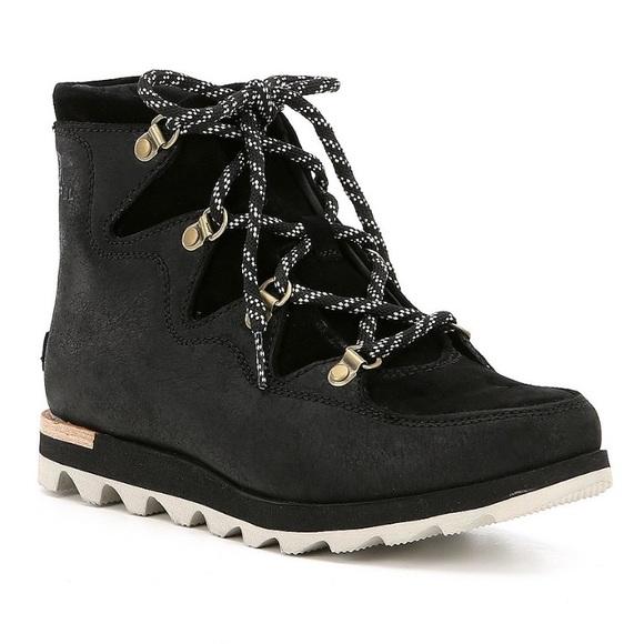 Sorel Shoes   Sorel Wedge Sneaker Boots